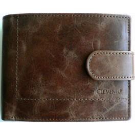 BROWN MARBLE looper - pánská kožená peněženka