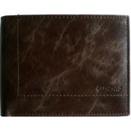 BROWN MARBLE flat - pánská kožená peněženka